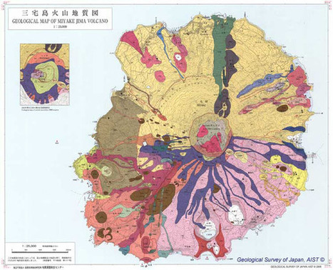 Incredibly beautiful geological maps of volcanoes - Holy Kaw! | Cartography | Scoop.it