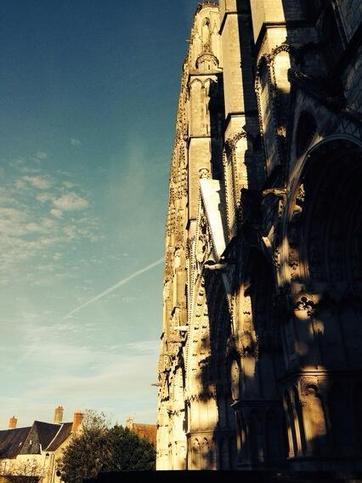 Twitter / Lo_bndw: La cathédrale de Bourges. ... | Bourges | Scoop.it