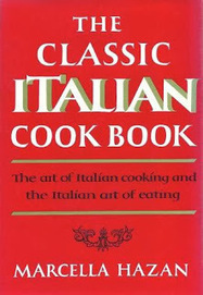 "The birth of ""The Classic Italian Cook Book"" by Marcella Hazan 