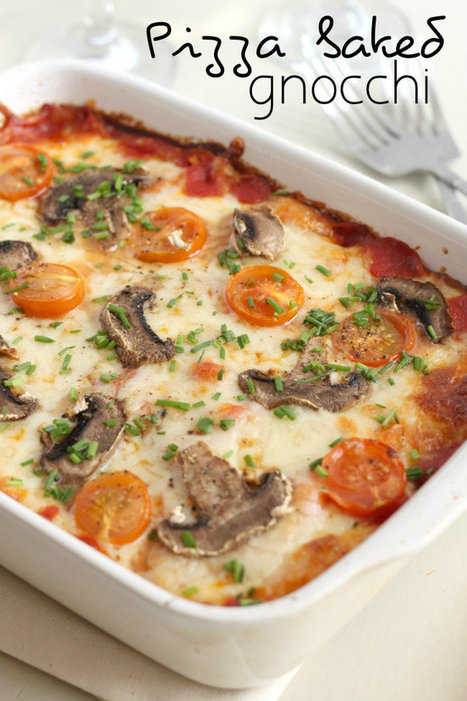 Pizza baked gnocchi - Amuse Your Bouche | food | Scoop.it