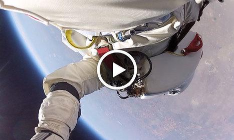 Vivez l'expérience exceptionnelle d'un plongeon stratosphérique comme si vous y étiez | sautenparachute | Scoop.it