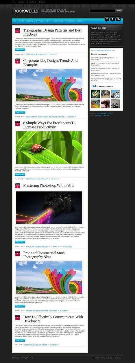 Best free responsive WordPress themes 2014 | WordPress Themes | Yasam Tarzim | Scoop.it