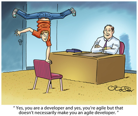 Cartoon of the Week: Are You an Agile Developer? - Developer.com | Higher Education and more... | Scoop.it