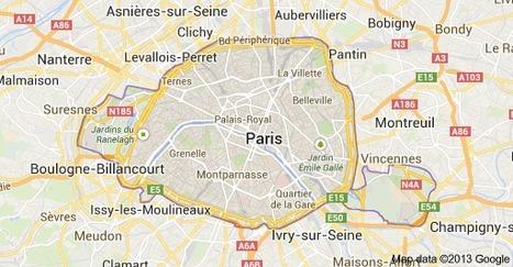 Map of Paris | Scordato Paris | Scoop.it