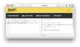 Getting started with ECMAScript 6 | Arik on WebDev and Design | Scoop.it