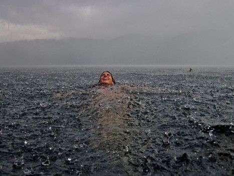 Swimming in a lake during the rain | Personal Branding Using Scoopit | Scoop.it