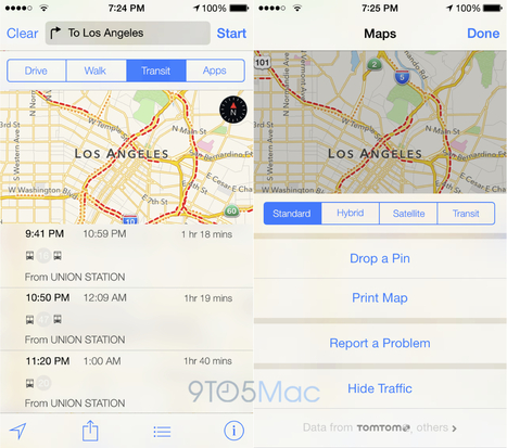 More on why public transit directions got lost in iOS 8 Apple Maps ... | Innovation in Public Transit | Scoop.it