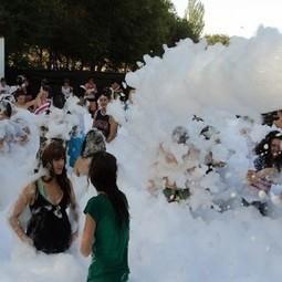Fiesta de la espuma en Toledo - Hinchables Toledo | eventosenfamilia | Scoop.it