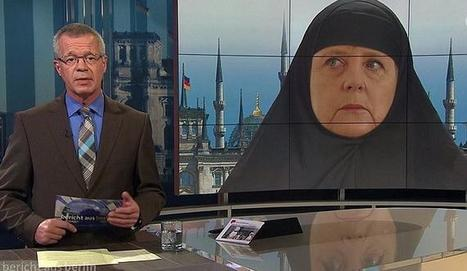 Outrage after German TV channel shows Merkel in Islamic headscarf   The France News Net - Latest stories   Scoop.it