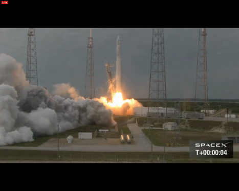 SpaceX Dragon Capsule Suffers Glitch After Launch to Space Station | The NewSpace Daily | Scoop.it