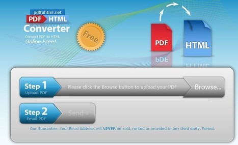 PdfToHtml: Convertir les fichiers Pdf en Html gratuitement | Time to Learn | Scoop.it