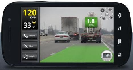 iOnRoad: An augmented reality app that makes driving safer | Mind Amplification | Scoop.it