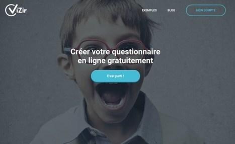 Vizir. Créer de magnifiques questionnaires en ligne | Quatrième lieu | Scoop.it