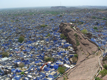 Jodhpur - India's Blue City | APHG EMiller | Scoop.it