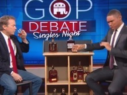Rand Paul Appears on The Daily Show to Debate and Drink Bourbon | Beyond the Smoke Screen | Scoop.it