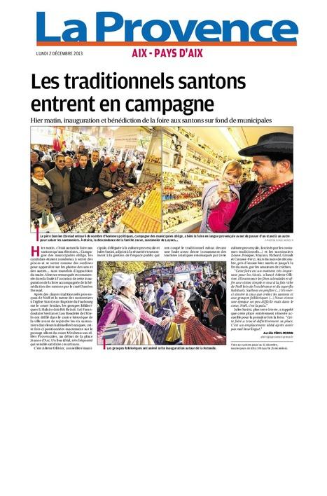 Les traditionnels santons entrent en campagne | Revue de presse Bruno Genzana Municipales Aix-en-Provence | Scoop.it