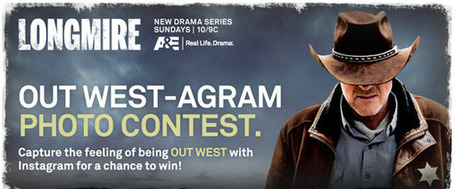 How A&E used Instagram to promote Longmire | Transmedia: Storytelling for the Digital Age | Scoop.it