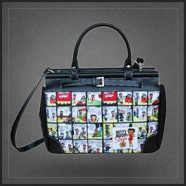 Grand sac à main de voyage Betty Boop | Boutique Muku | Scoop.it