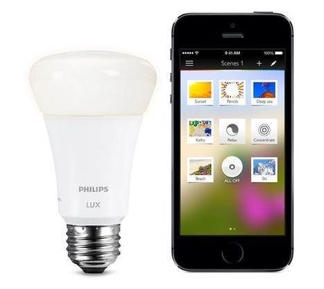 """Hue Lux : la nouvelle ampoule connectée """"plus accessible""""   Belgium-iPhone   Soho et e-House : Vie numérique familiale   Scoop.it"""