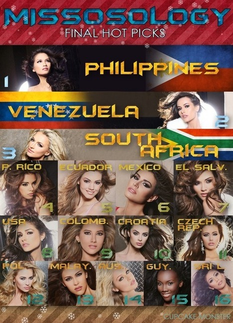MISSOSOLOGY - Miss Universe 2012 Final Predictions | Small Business Development | Scoop.it