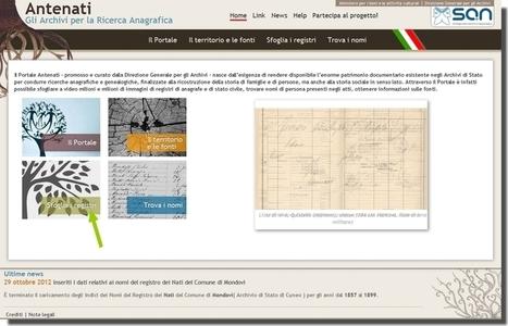 Les archives généalogiques italiennes | La Revue Française de Généalogie | L'écho d'antan | Scoop.it