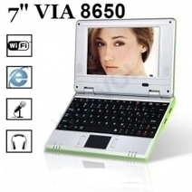 """LIME GREEN 7"""" Mini Netbook 