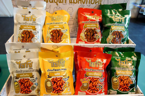 Street Food No More: Bug Snacks Move To Store Shelves In Thailand | Entomophagy: Edible Insects and the Future of Food | Scoop.it