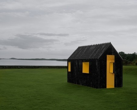 Chameleon Cabin / White Arkitekter | ArchDaily | portage | Scoop.it
