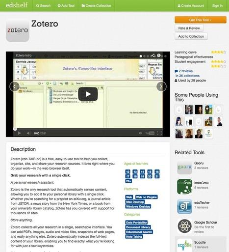 Le blog de Recherche-eveillee.com: Edshelf : un répertoire de ressources pour l'enseignement et l'éducation | Formation & e-Learning | Scoop.it