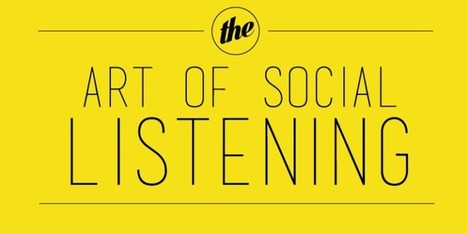 The Art of Social Media Listening and how it can Benefit Your Business | Daily Magazine | Scoop.it