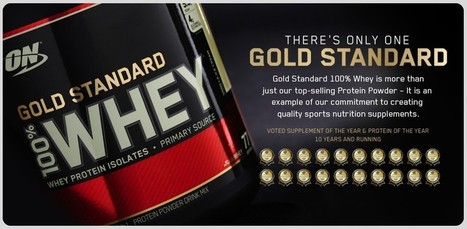 Optimum Nutrition 100% Whey Protein Isolates BCAA Gold Standard Powder Drink 5lb | Best Of The Internet | Scoop.it