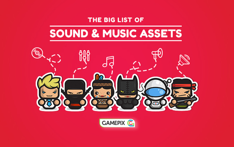 The big list of sound and music assets for your HTML5 game | Edtech PK-12 | Scoop.it