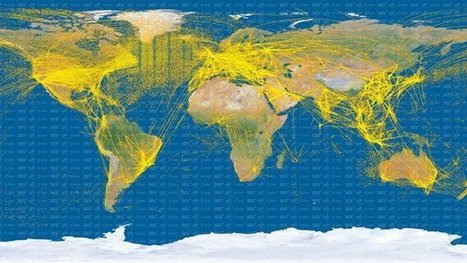 Proba-V maps world air traffic from space | Science&Nature | Scoop.it