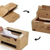 Samsung Invents a Clever Cardboard Printer That Folds Up | Strange days indeed... | Scoop.it