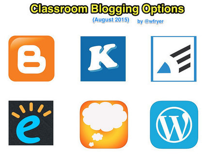 Classroom Blogging Options (August 2015) | Edtech PK-12 | Scoop.it