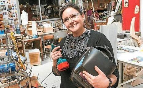 A Bordeaux, une artisane du recyclage | Déco Design | Scoop.it