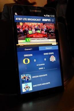 AT&T unveils LTE Broadcast technology at College Football Playoff ... - Dallas Business Journal (blog) | CLOVER ENTERPRISES ''THE ENTERTAINMENT OF CHOICE'' | Scoop.it