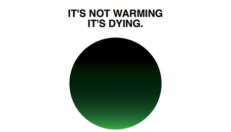 Milton Glaser doesn't love global warming | Design | Agenda | Phaidon | Global Evolution: Will we be in time? | Scoop.it