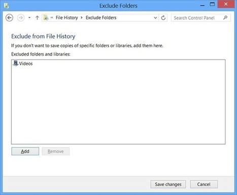 Una nueva manera de respaldar: El Historial de archivos en #Windows8 - #Backup | Desktop OS - News & Tools | Scoop.it