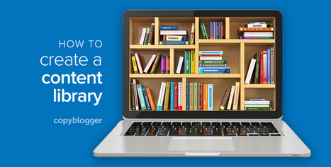 What Is a Content Library? Plus Answers to 9 More Questions about This Innovative Lead Gen Approach - Copyblogger | Online tips & social media nieuws | Scoop.it