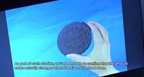 Réalité augmentée : influer sur la taille des aliments pour calmer votre appétit   La réalité augmentée   Scoop.it