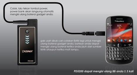 Power Bank Dazumba PD 5200 - Simpel, Mudah dan Praktis   MauOrder.Com   Advertising   Scoop.it
