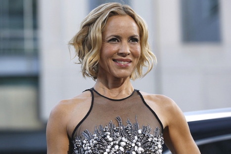 """Maria Bello's great """"whatever"""" coming out 