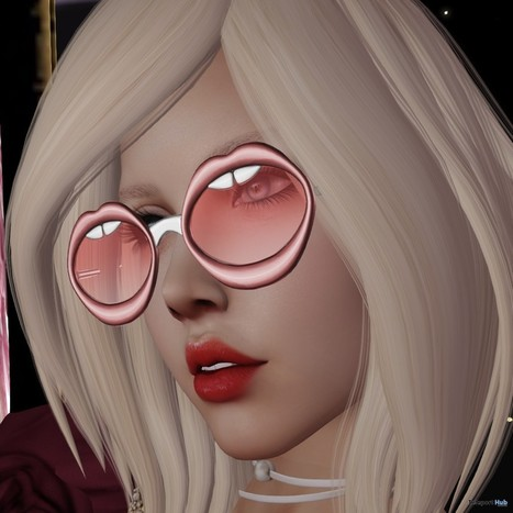 Lips Glasses Roulett3 Event Group Gift by [Since 1975] | Teleport Hub - Second Life Freebies | Second Life Freebies | Scoop.it