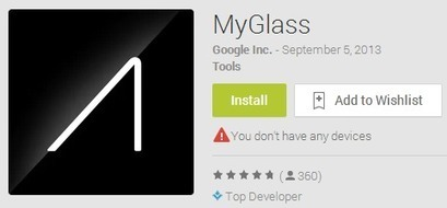 App Store For Google Glass Expected To Come In 2014 | Mobile Application Development - iPhone, Android, iOS & Windows Mobile | Scoop.it