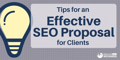 Tips for an Effective Search Engine Optimization Proposal for Clients | SEO | Scoop.it