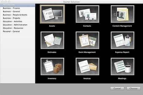 Develop iPad apps using FileMaker Pro Starter Solutions | TechRepublic | Icertis Competitors | Scoop.it