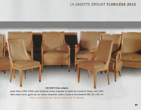 Marc Mineray expert CEFA, Gazette Drouot Florilège 2015. | CEFA | Scoop.it