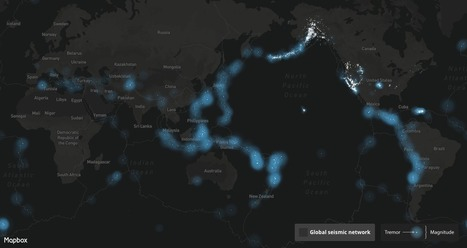 Scary real-time map of earthquakes around the world - Geoawesomeness   Aardrijkskunde van mud   Scoop.it