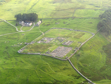 Archaeological site of the day: Hadrian Wall - Mile36 - Housesteads via @perlineamvalli #RomanBritain   Archaeology Travel   Scoop.it